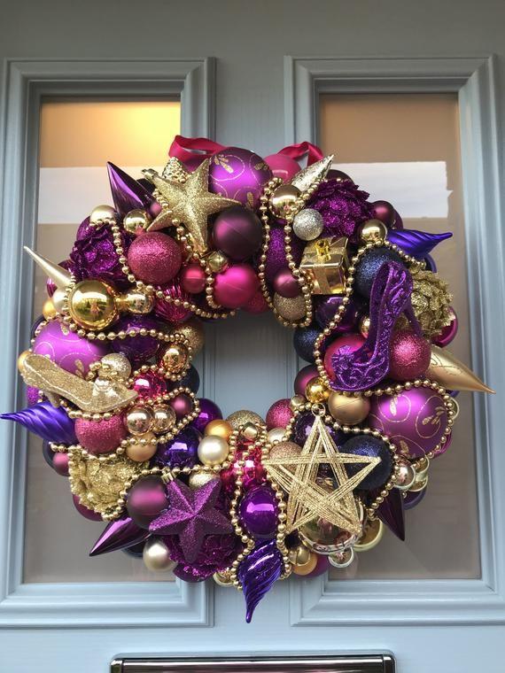 Bauble wreath - Dancing Queen