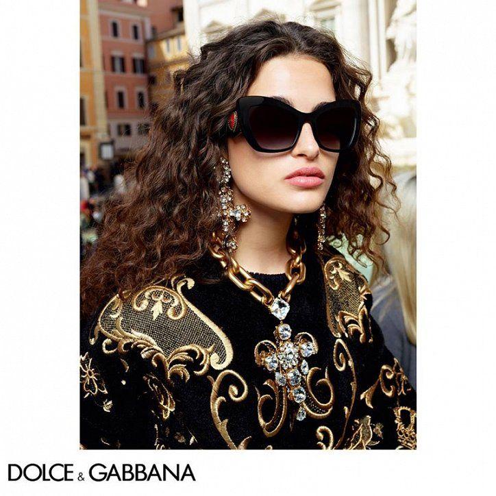 Очки Dolce   Gabbana осень-зима 2018-2019 в 2019 г.   new ... aff7f3d0ef0
