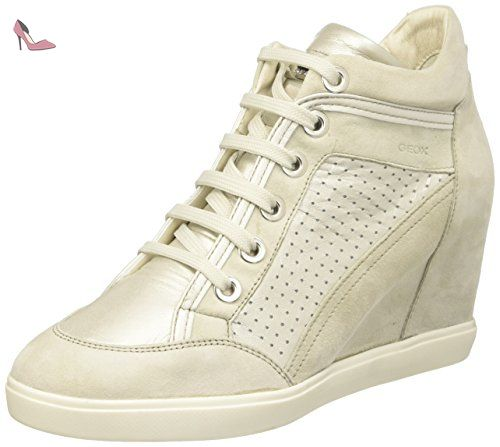 Trysure E, Sneakers Basses Femme, Gris (Lt Greyc1010), 39 EUGeox