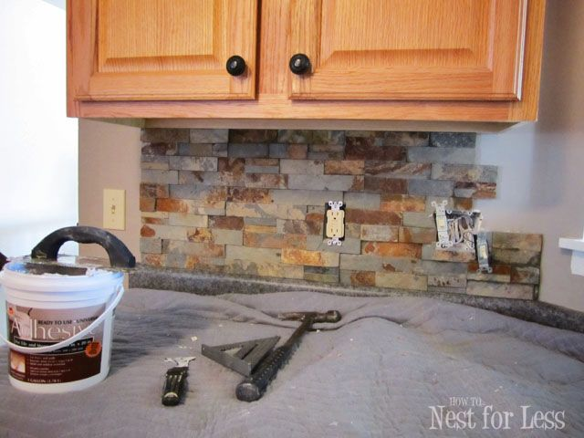 Stone Kitchen Backsplash Kitchen Backsplash Kitchen Backsplash