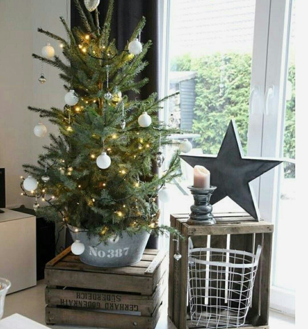 rvore de natal natural aquellespetitescosesbcn id e. Black Bedroom Furniture Sets. Home Design Ideas