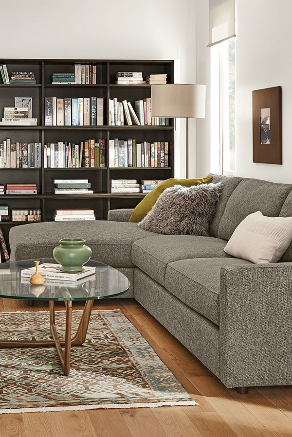 Easton Sofas with Chaise in 2019 | Modern Sofas & Loveseats ...