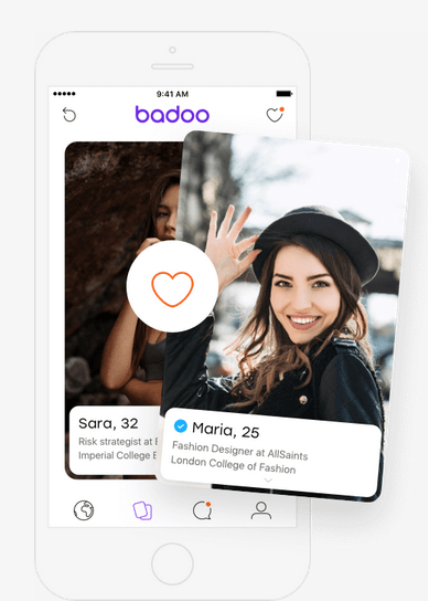 Badoo is a dating app which also features social discovery