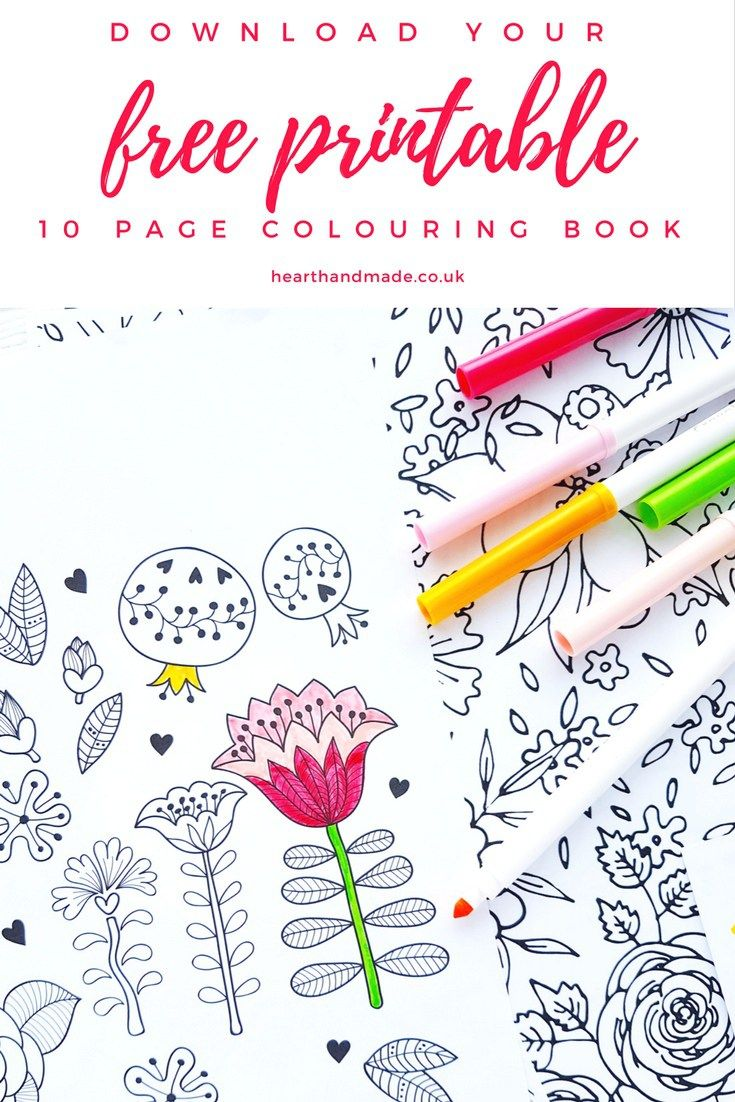 Free printable colouring pages pattern designs coloring books and