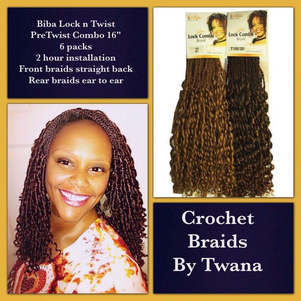 Crochet braids with pretwisted hair by biba crochetbraids