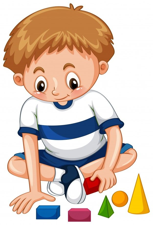Download Little Boy Playing Shapes For Free Character Design Animation Boy Art Kids Clipart