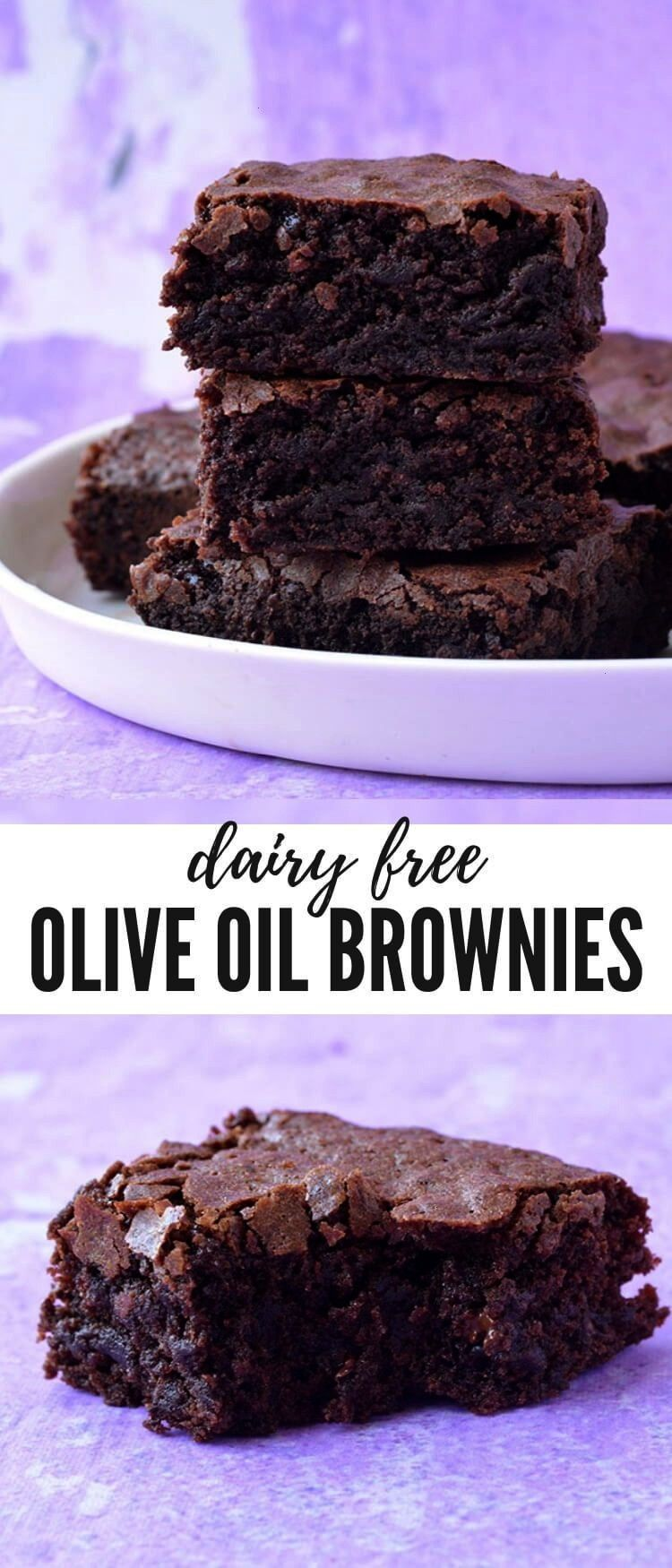 fall head over heels for these deliciously easy Olive Oil Brownies. Filled to the brim with chocola