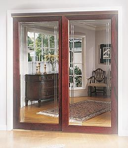 Closet Doors With Mirrors Stanley Sliding Decorative Framed