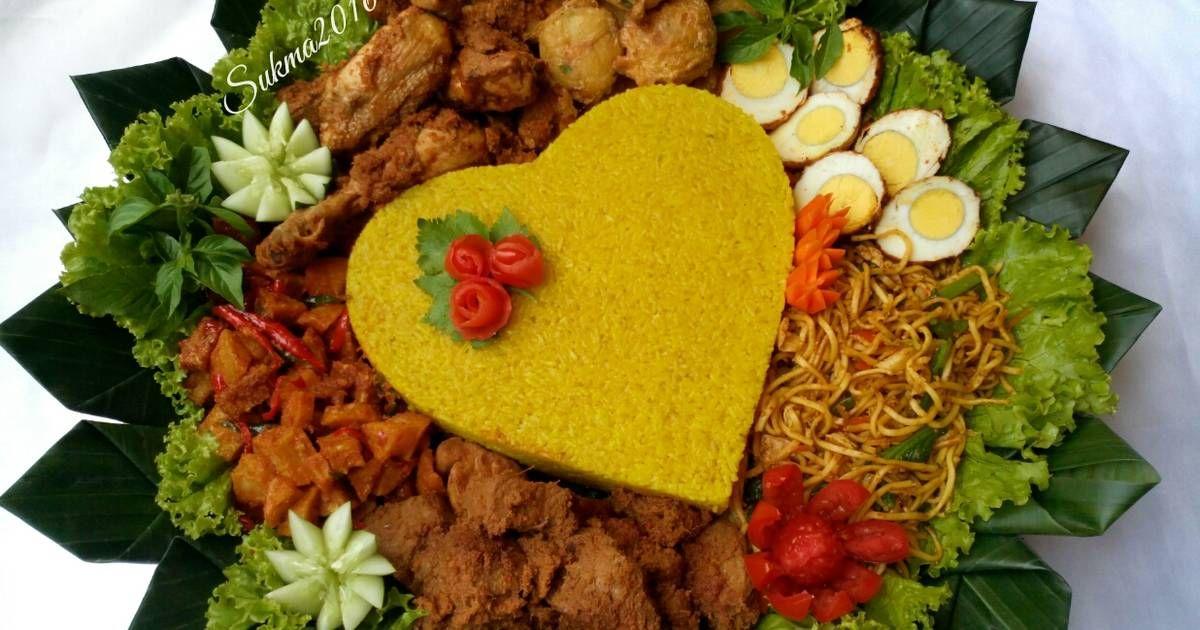 Resep Nasi Tumpeng Kuning Oleh Sukmawati Rs Resep Food Design Resep Resep Masakan Malaysia