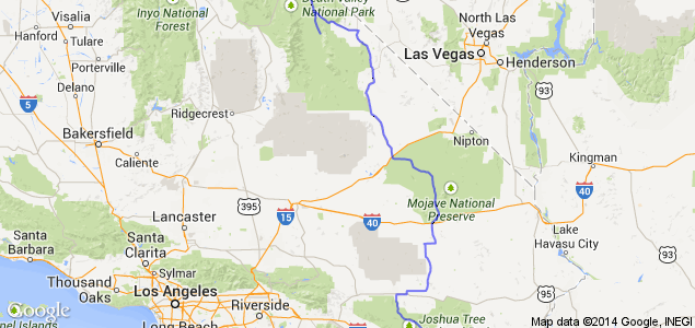 CA-127 From Salton to Joshua Tree National Park, Mojave and Death ...