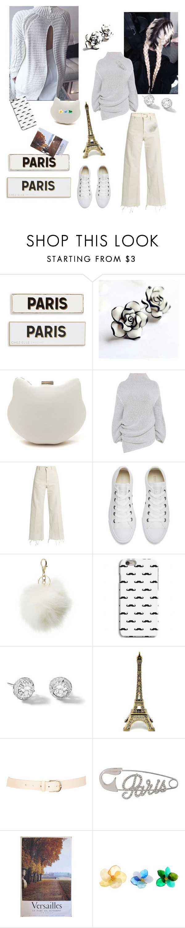 """French Vanilla"" by bromaxx ❤ liked on Polyvore featuring Rosanna, STELLA McCARTNEY, Rachel Comey, Converse, Charlotte Russe, Riviere, Maison Boinet, Sonia Rykiel and French Connection"