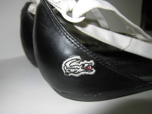 I just added Women's Size 9 White and Black Lacoste 'Lillie' Sandals to my ebay listings **NEW** Happy Bidding:) *SOLD*