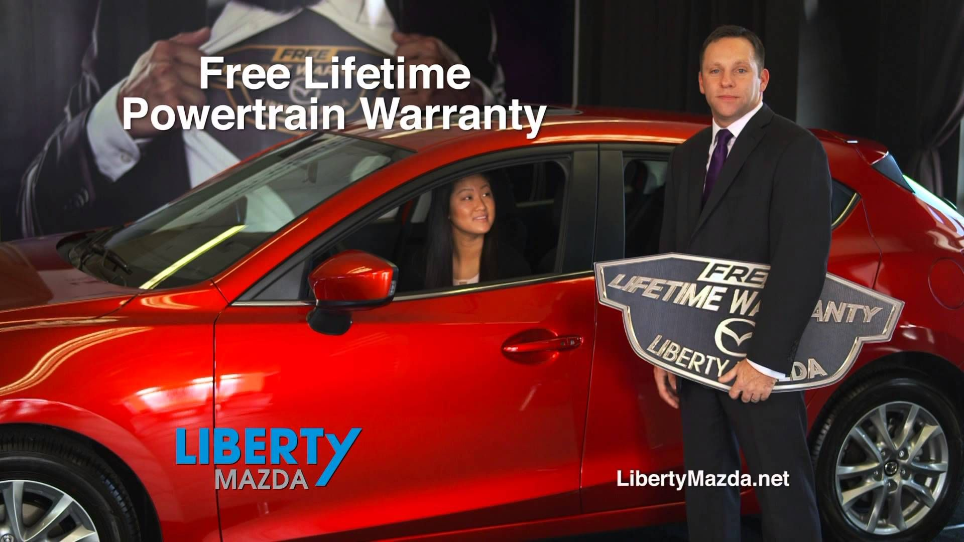 Liberty Mazda, Part Of The Executive Auto Group, Is The Only Mazda Dealer In
