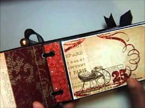 Christmas Paper Bag Mini Album - Tis the Season Blog Hop Day 2