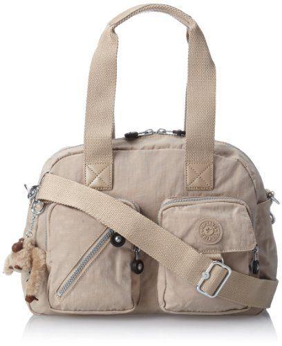 Kipling Defea Medium Handbag, Café Latte