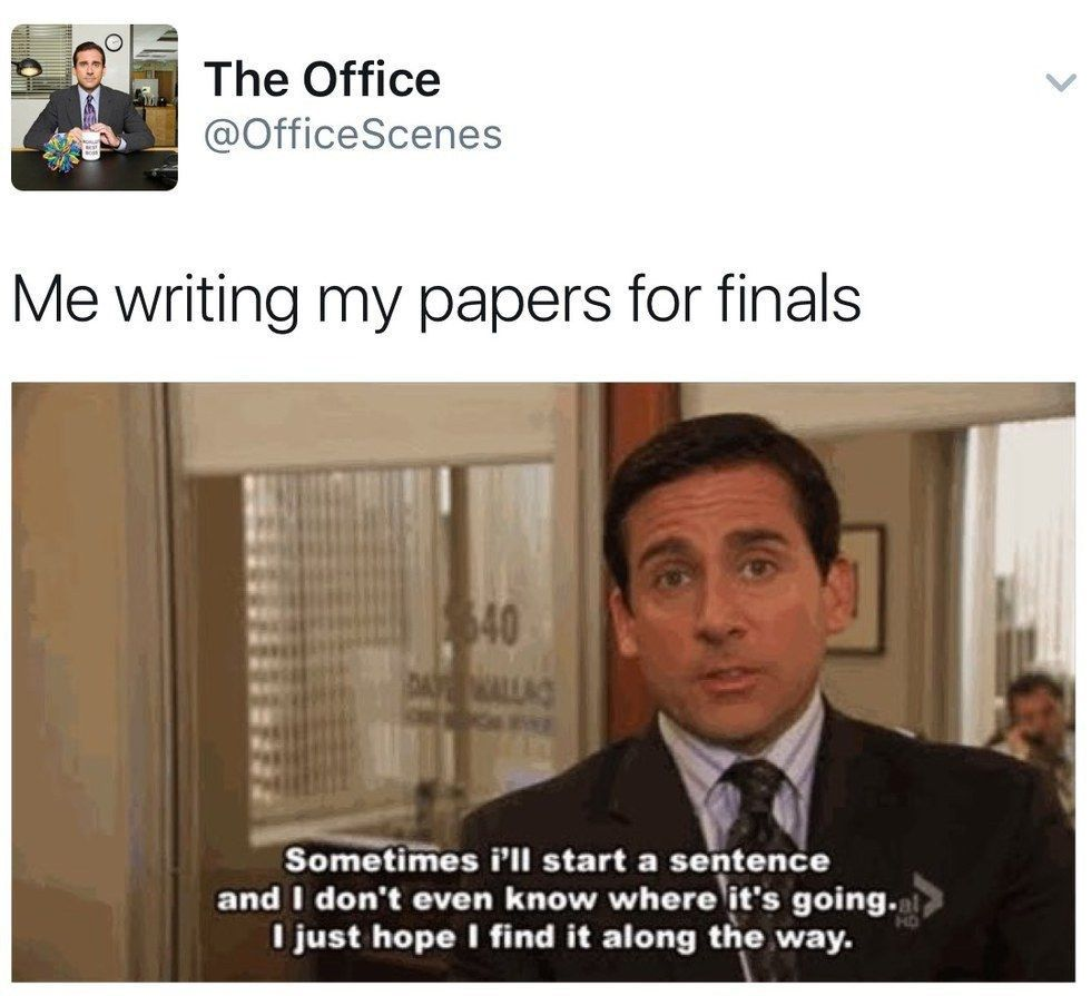 17 Memes That Sum Up The Rollercoaster That Is Finals Week