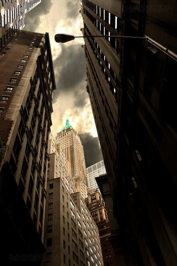 Manhattan Study-Fine art, architecture, New York City