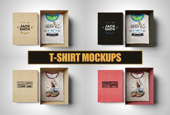Download T Shirt Mockup Box Edition