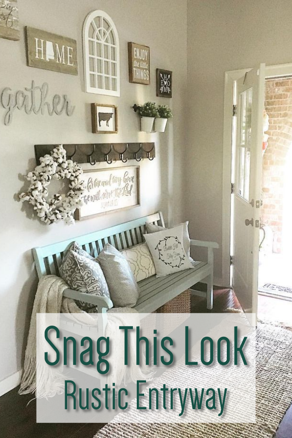 10 Best Rustic Entryway Ideas - Mommy Thrives