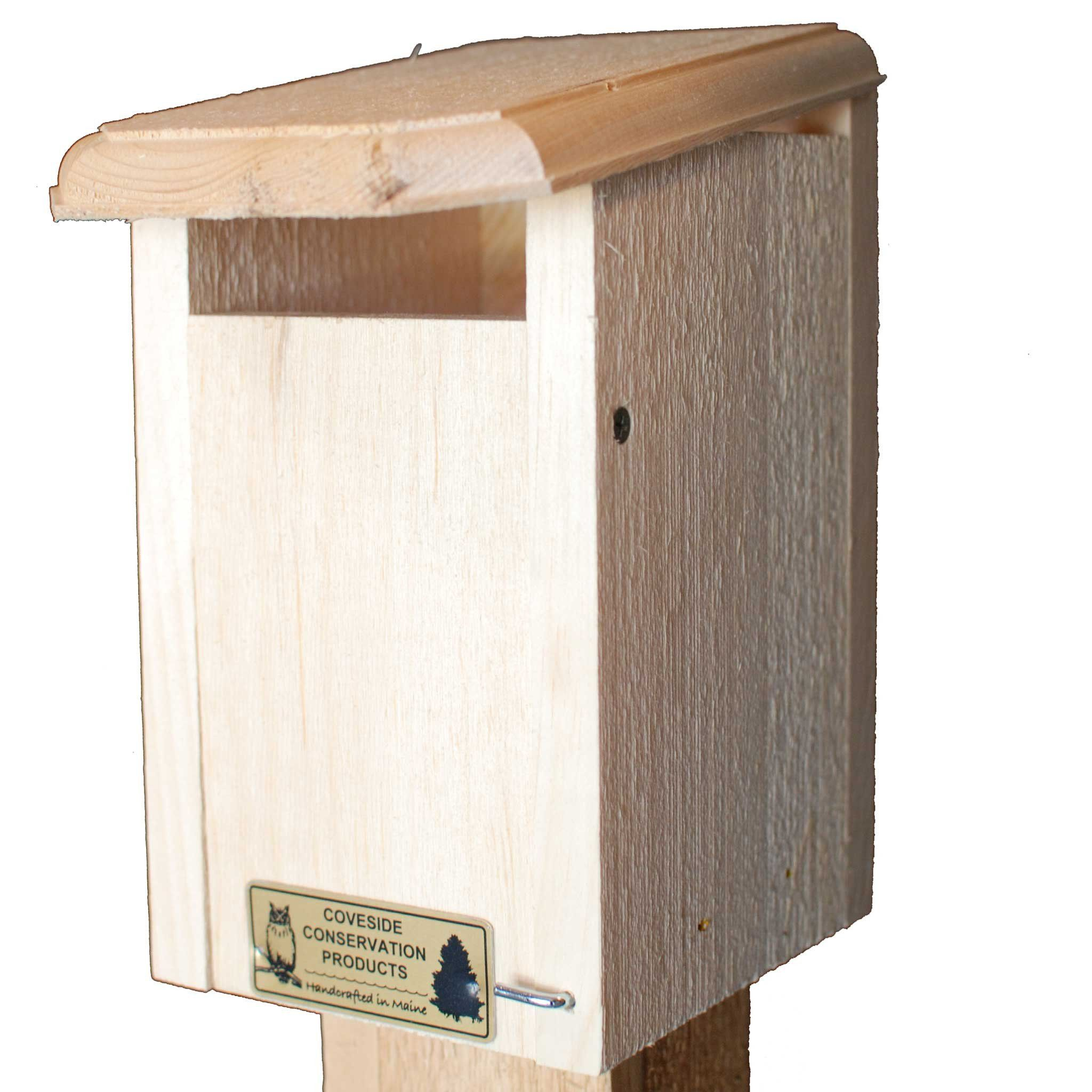 Sparrow Resistant Bluebird House Plans Collection