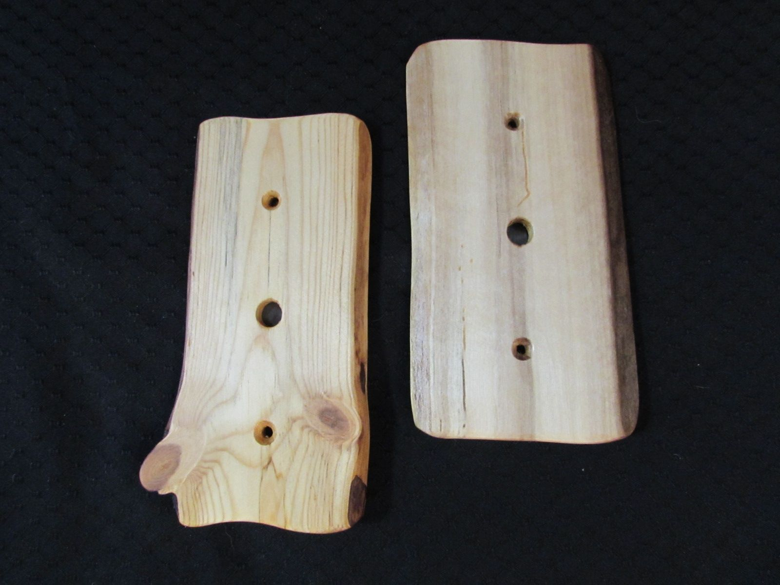 Rustic Wood Cable Plate Covers Plate covers, Log