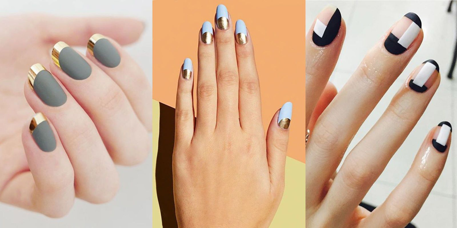 10 Matte Nail Designs Youll Want To Try This Fall Pinterest