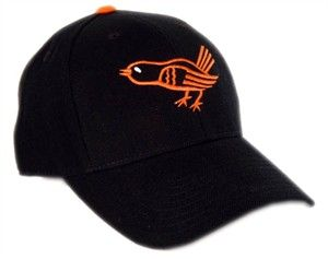 Cooperstown Baltimore Orioles 1964 - 1965 Adult Fitted Throwback Baseball Hat