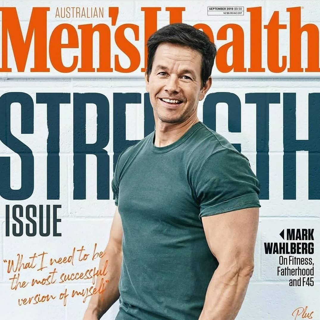 Father Fitness Fanatic And F45 Legend Markwahlberg In The Latest Menshealthmag Read The Full Cover Story As Mark Gives U Fitness Fanatic Fatherhood Fitness