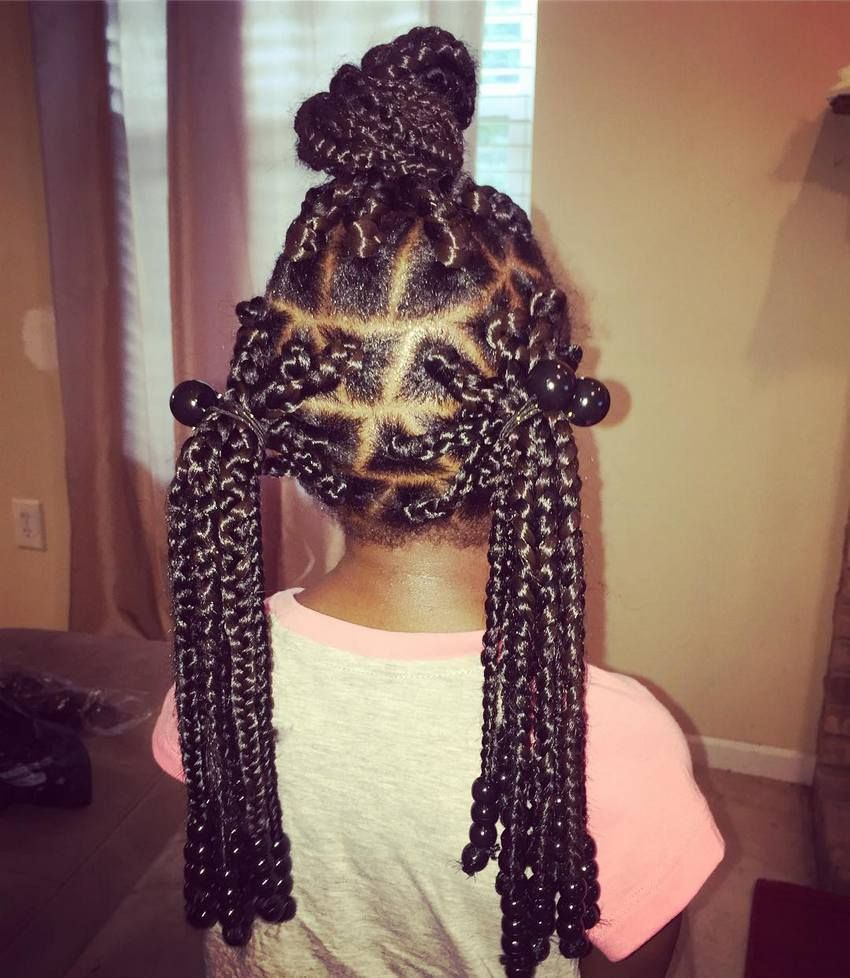 Box braids hairstyles for kids kids cool hairstyles and