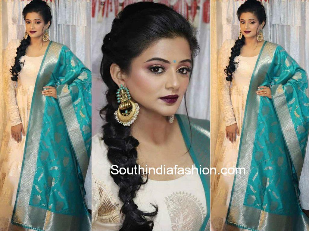priya mani's ethnic look | indian couture | anarkali dress