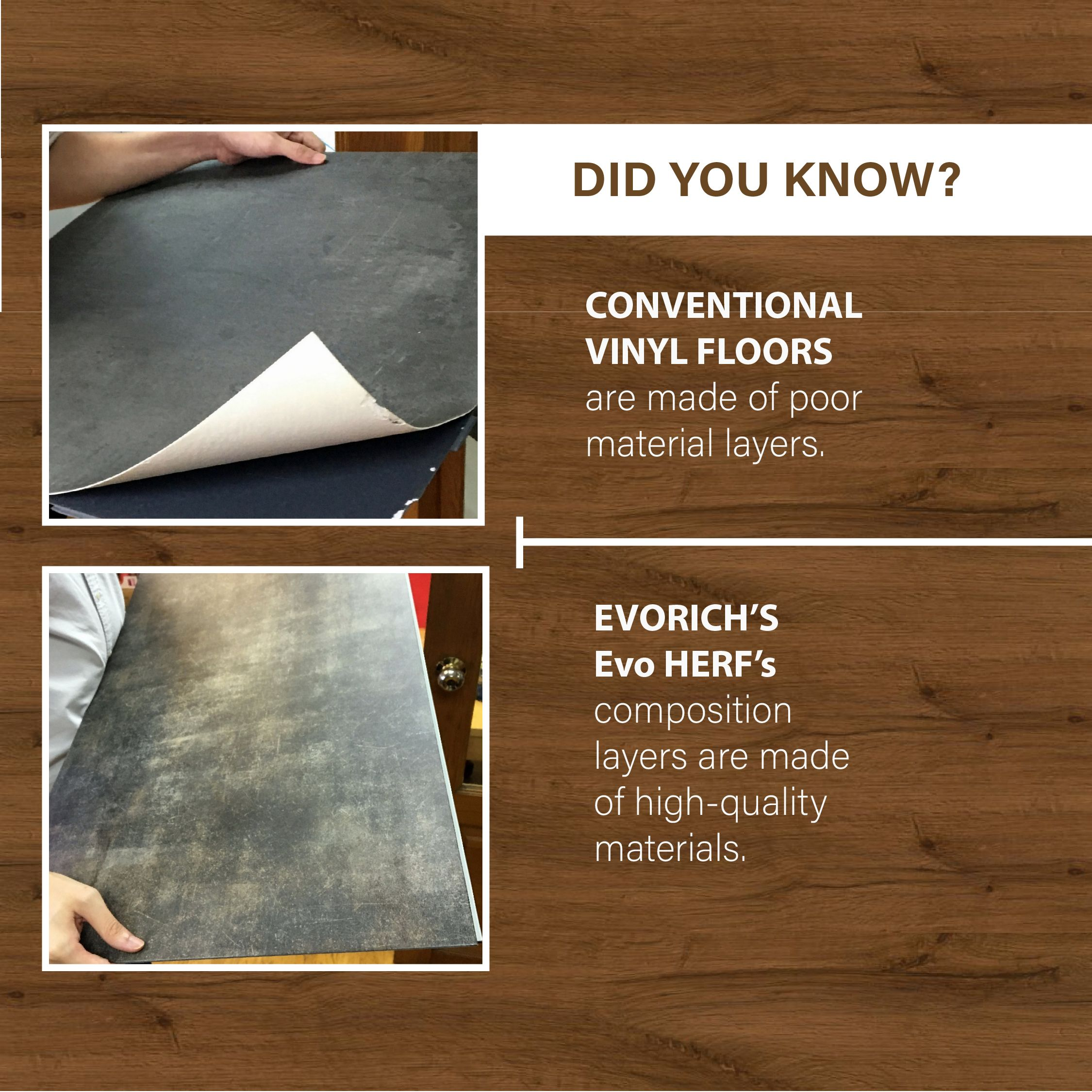 At Evorich We Place A Strong Focus On Product Quality After All The Price Is The Amount You Pay And Value Is Wh Resilient Flooring Vinyl Flooring Resilience