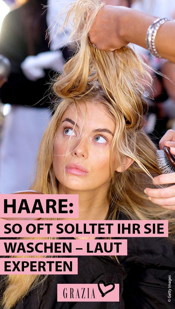 Haare: So oft solltet ihr sie waschen – laut Experten