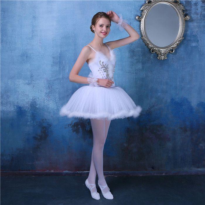 7645ebe42 Nuevo Profesional Plato Tutu Vestido Del Ballet Para Niñas Leotardos ...