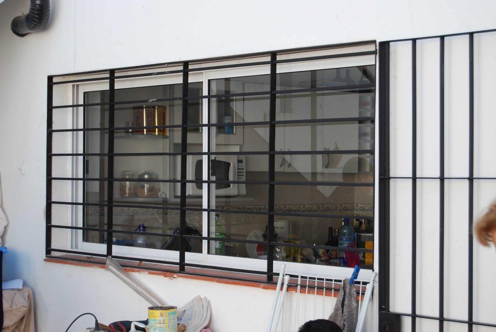 Rejas horizontales   Rejas ventanas   Pinterest   Rejas, Rejas ...