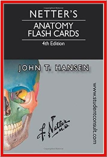 Httpdticorpraterp27195790netters Anatomy Flash Cards