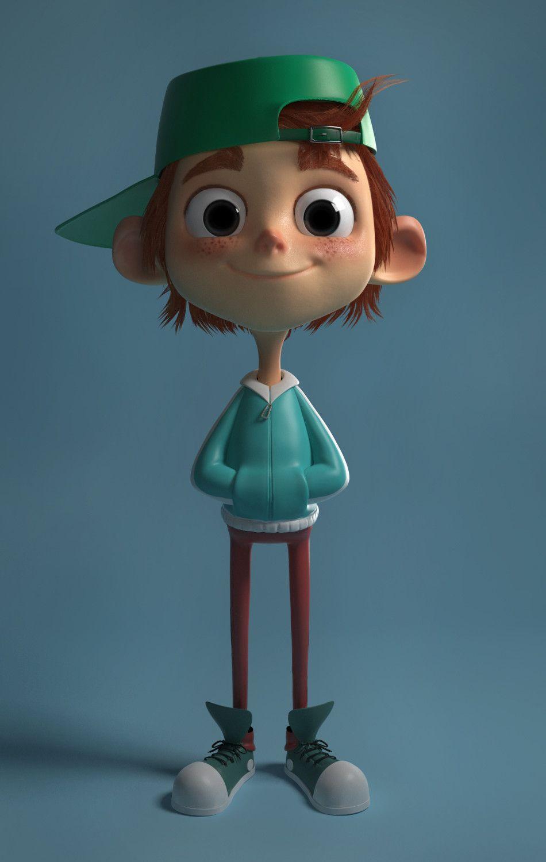 Yury Muzyrya: ArtStation Mabel Pines Yury Muzyrya 3D Characters Cartoon