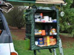 Camping Storage Collapsible From Compact Trailers