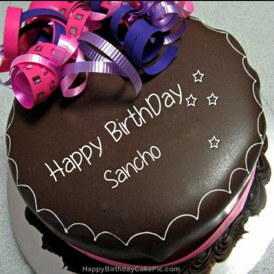Happy Birthday Sancho Birthday Memes Happy Birthday Cake