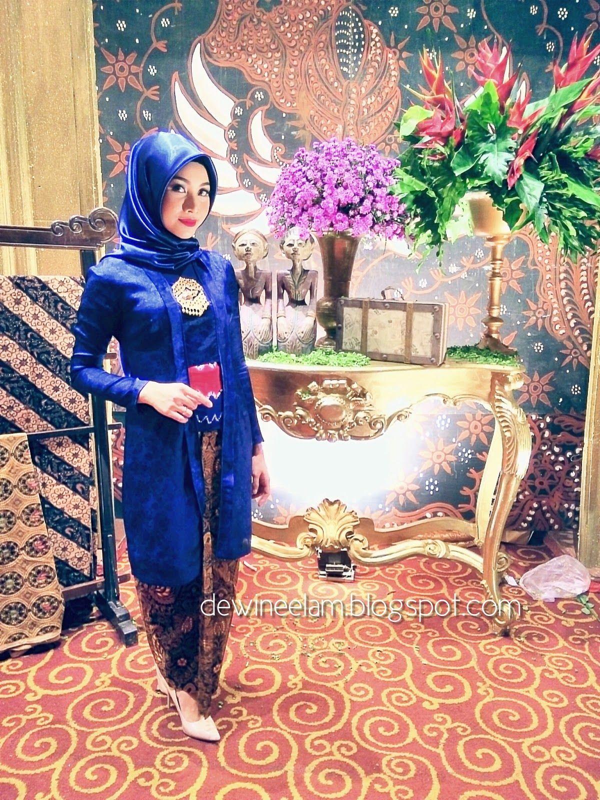 Model Kebaya Kutu Baru Tradisional Untuk Muslimah Kebaya Hijab