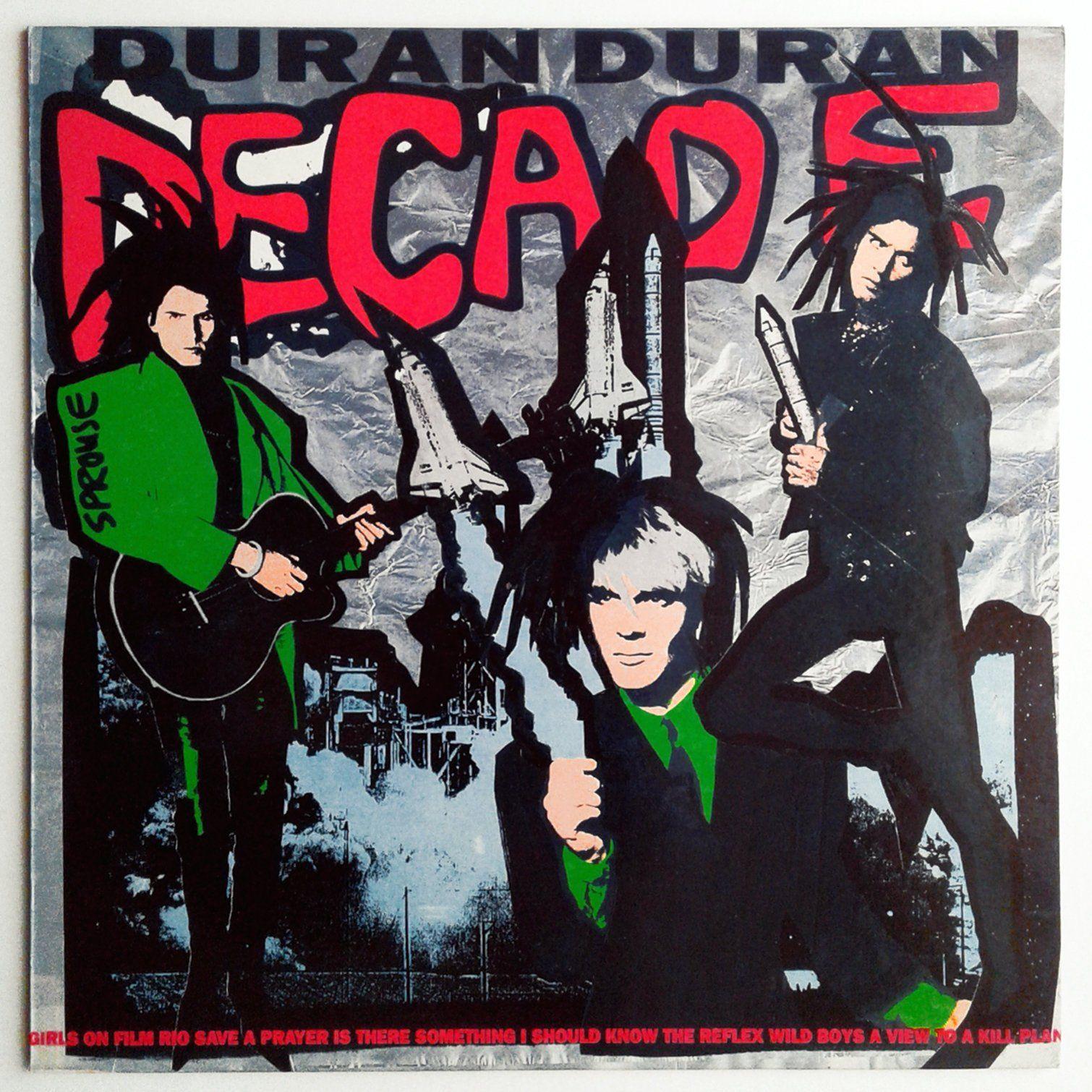 Duran Duran Decade Vinyl Record Compilation Greatest Hits Lp