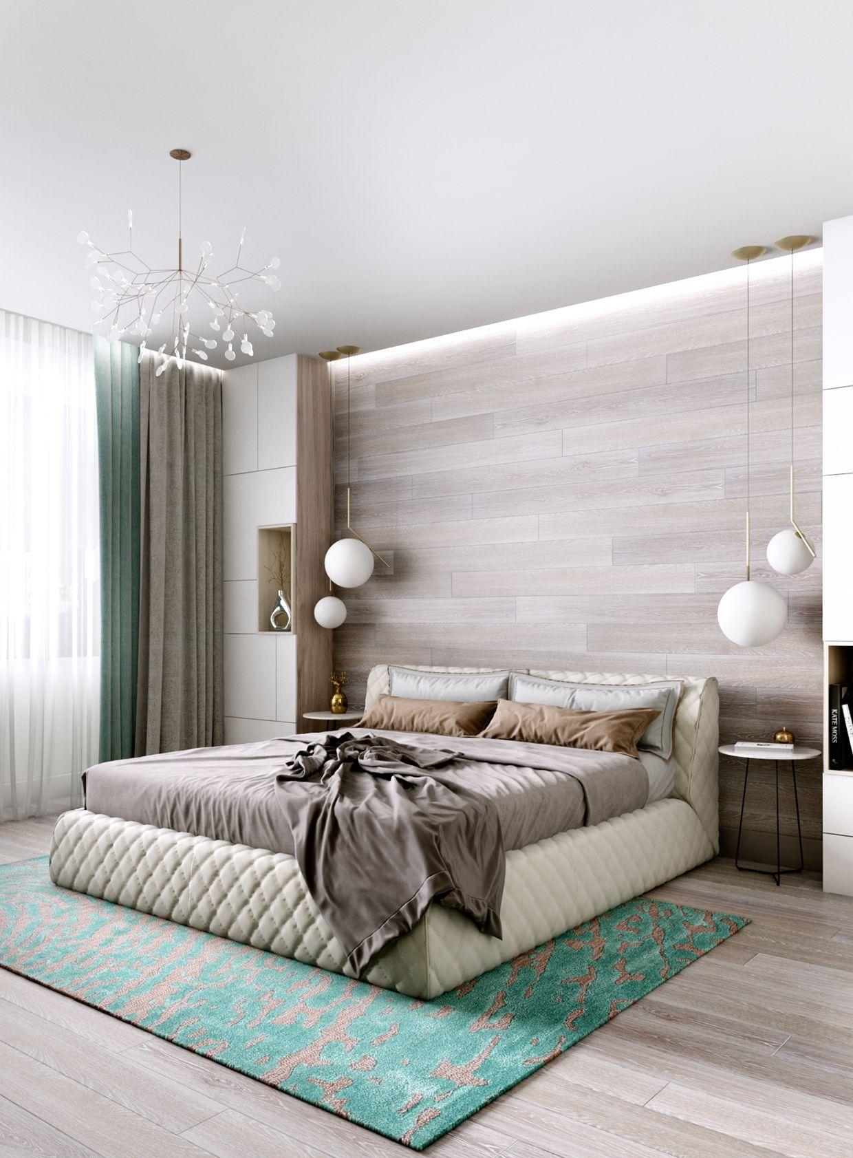 Anna grigoryan bedrooms for Dormitorio principal m6 deco