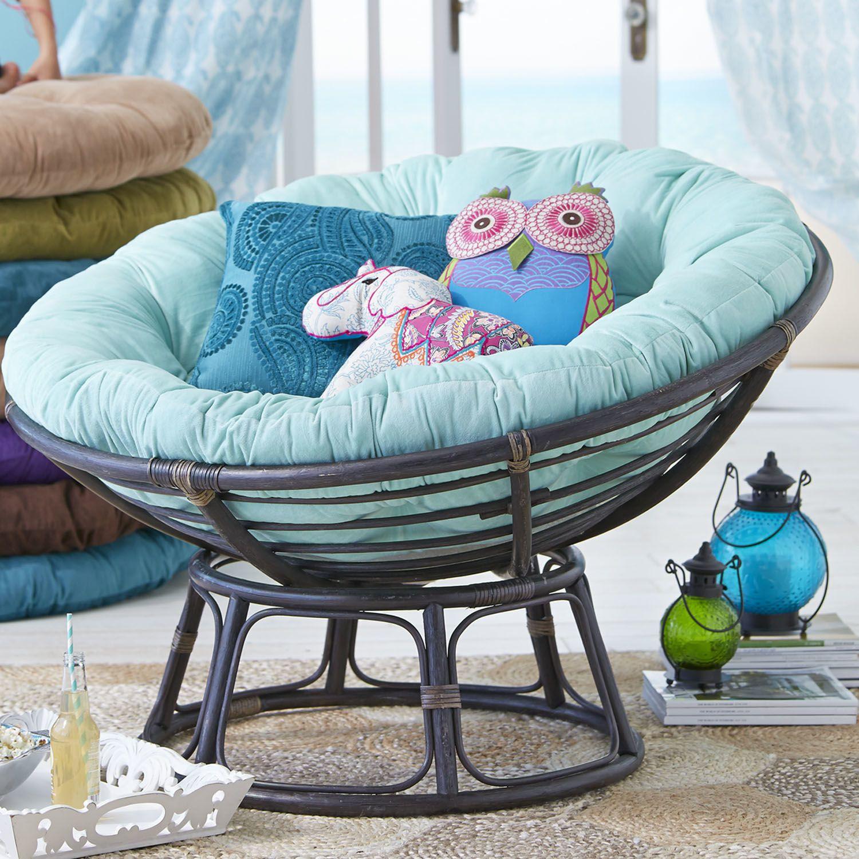 Papasan Cushion Plush Mint Green Pier 1 Imports (con