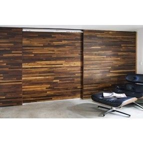 sliding barn door reclaimed wood