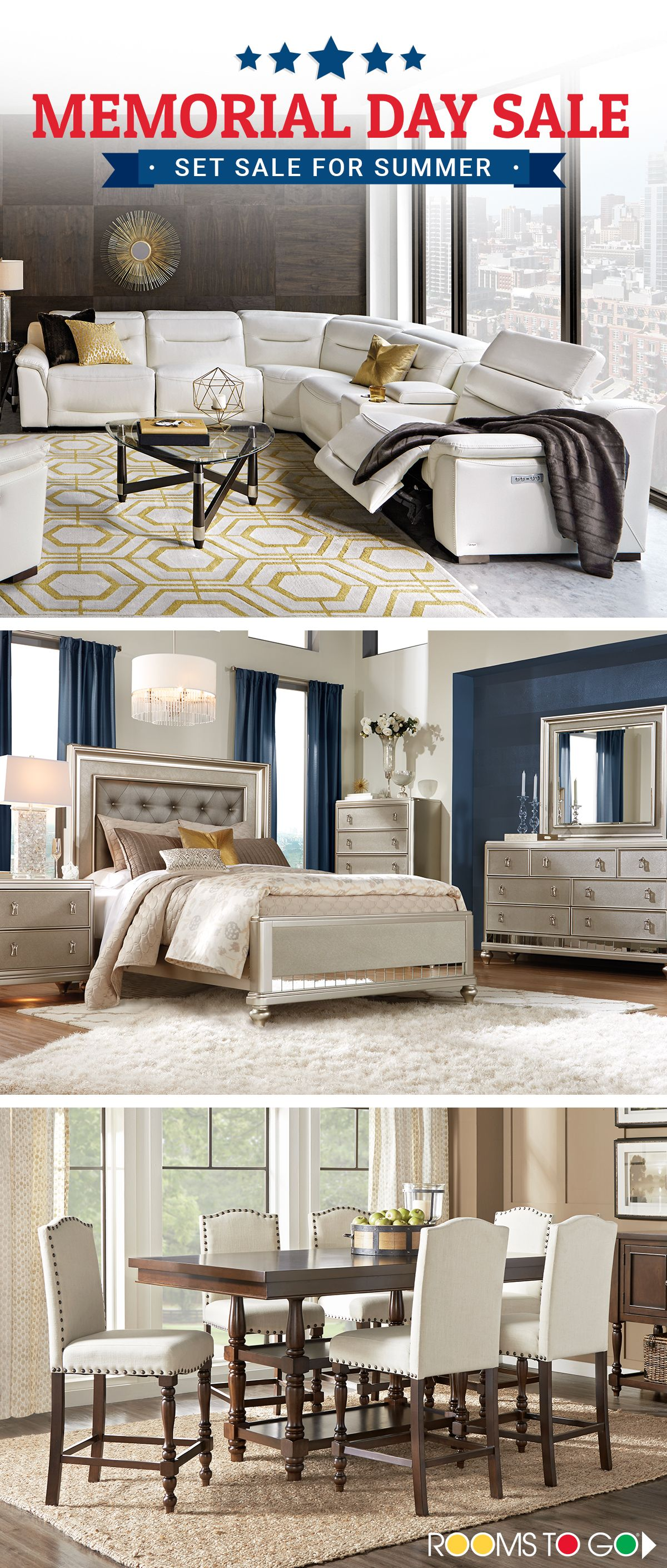 Set Sale For Summer With Great Savings On Bedrooms Living Rooms