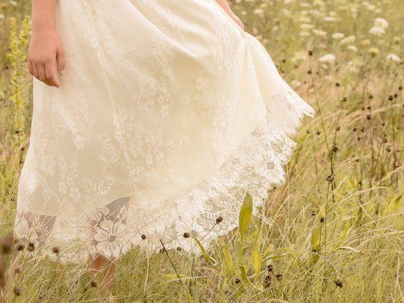 6f4a09477d Ava Lace Flower Girl Dress ivory flower girl dress girls
