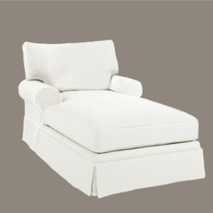 Bar Habour Slipcovered Chaise Lounge Chaise Lounge Indoor Slipcovers Chaise Lounge