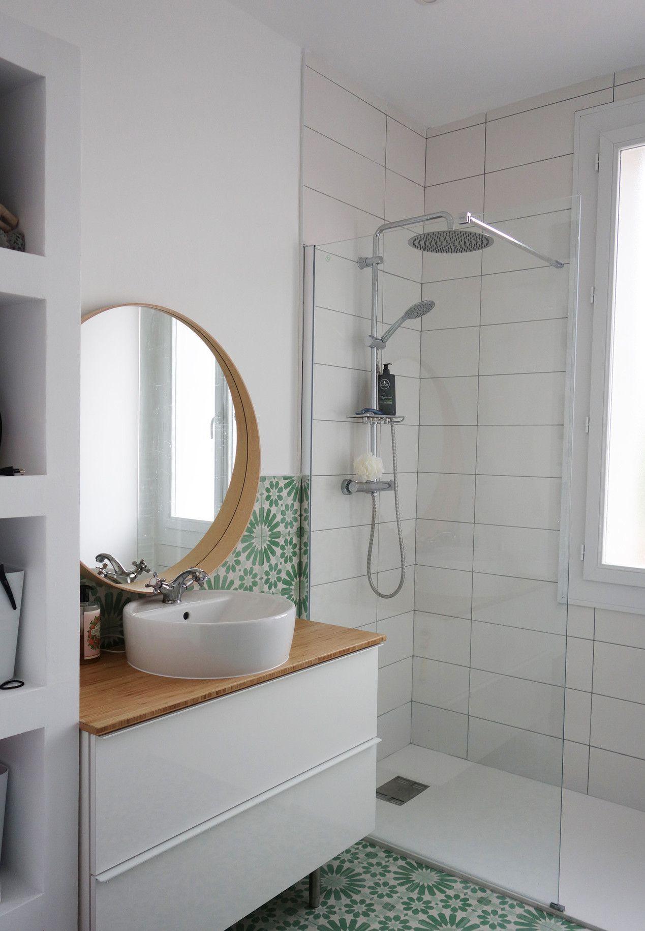 Un Appartement Renove Du Sol Au Plafond A Aix En Provence Avec Images Deco Salle De Bain Toilette Salle De Bain Design Idee Salle De Bain