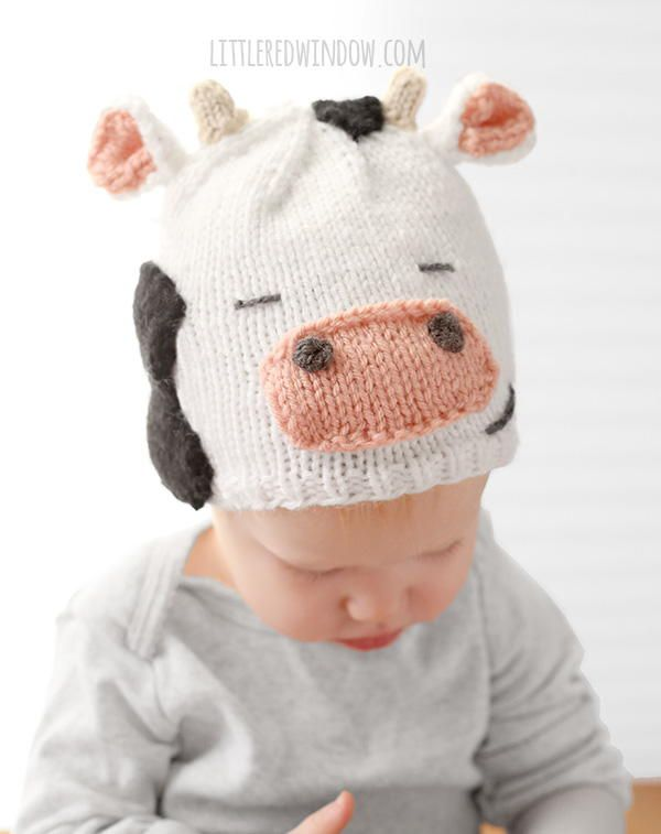 Cuddly Cow Hat | Tejido y Ropa