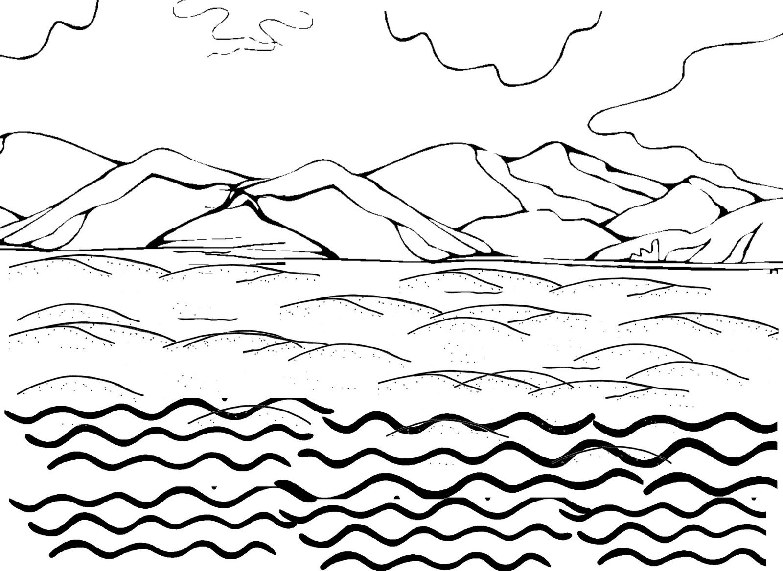 water themed coloring pages air land and sea coloring page transportation theme