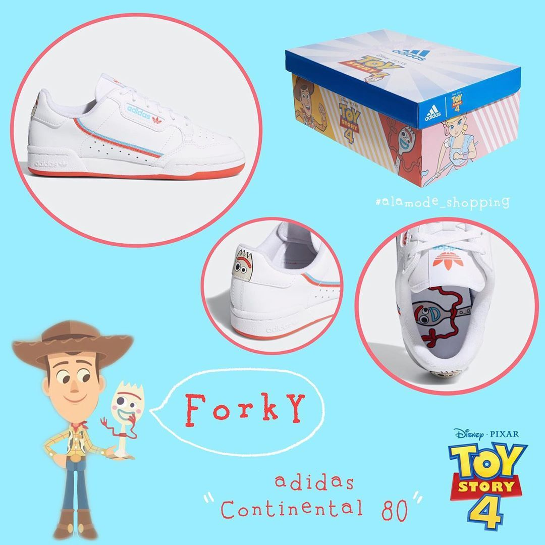 Latest price update! Adidas Continental 80's x Toy Story 4